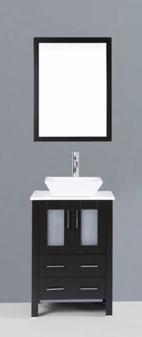 "Image of 24"" Bosconi AB124S Single Vanity"