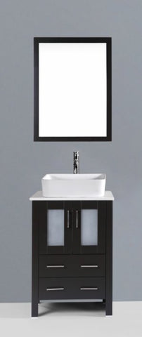 "24"" Bosconi AB124RC Single Vanity"