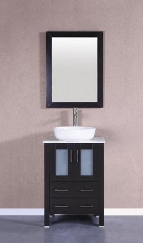 "24"" Bosconi AB124BWLCM Single Vanity"