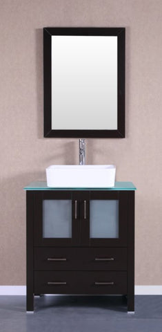 "Image of 30"" Bosconi AB130RCCWG Single Vanity"
