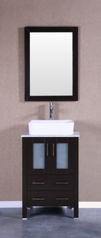 "Image of 24"" Bosconi AB124RCCM Single Vanity"