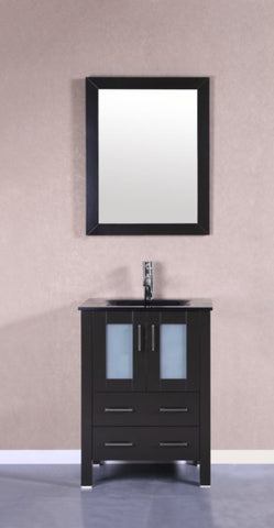 "Image of 24"" Bosconi AB124BGU Single Vanity"
