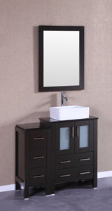 "24"" Bosconi AB124CBEBG Single Vanity"