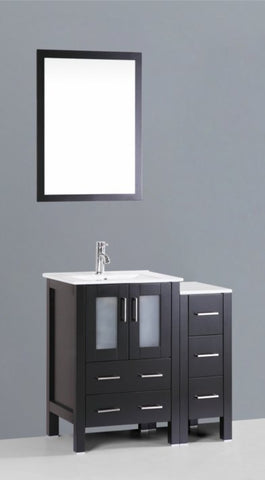"Image of 36"" Bosconi AB124U1S Single Vanity"