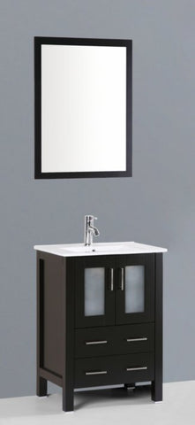 "Image of 24"" Bosconi AB124U Single Vanity"