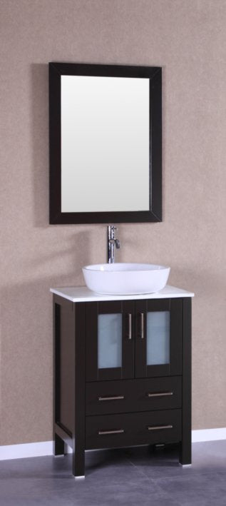 "24"" Bosconi AB124BWLPS Single Vanity"