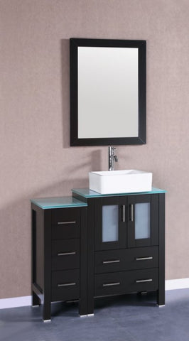 "Image of 36"" Bosconi AB124CBECWG1S Single Vanity"