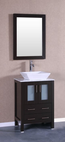 "Image of 24"" Bosconi AB124SQCM Single Vanity"