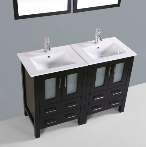 "Image of 48"" Bosconi AB224U Double Vanity"