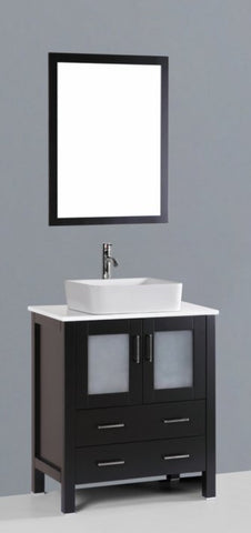 "Image of 30"" Bosconi AB130RC Single Vanity"