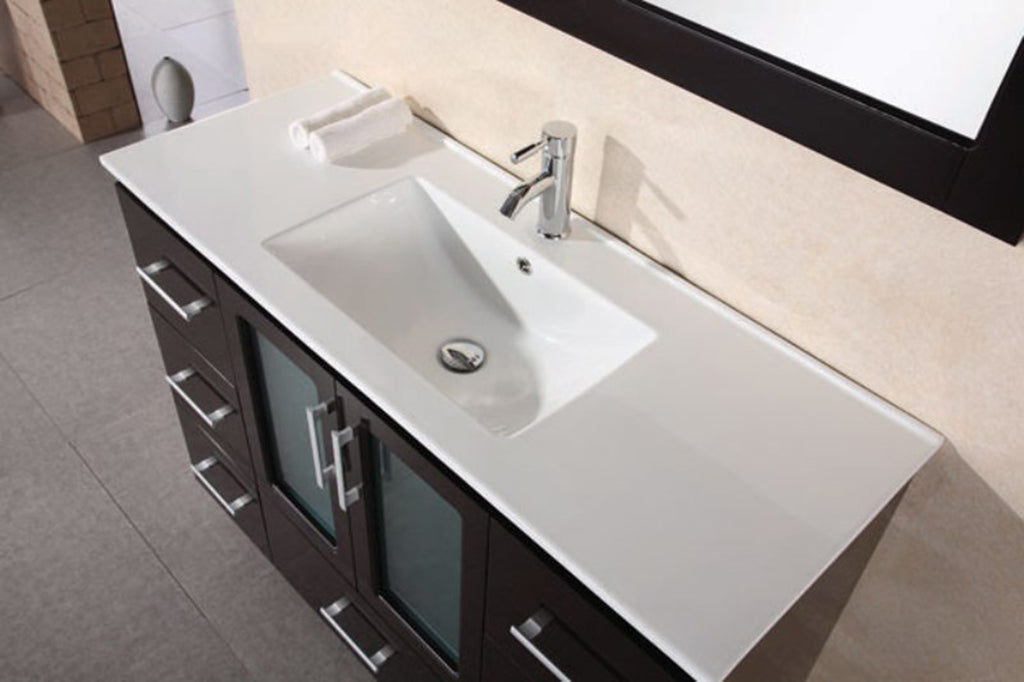 "Stanton 48"" Single Sink Vanity Set in Espresso"