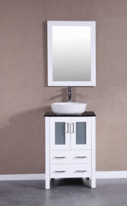 "24"" Bosconi AW124BWLBG Single Vanity"