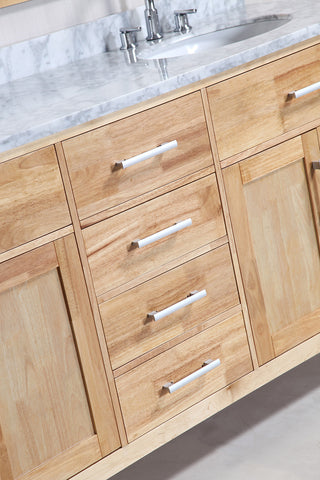 "Image of London 72"" Double Sink Vanity Set in Oak Color"