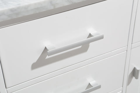 "Image of London 42"" Single Sink Vanity Set in White Finish"