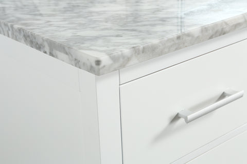 "Image of London 36"" Single Sink Vanity Set in White"