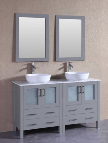 "Image of 72"" Bosconi AGR230CBECM1S Double Vanity"