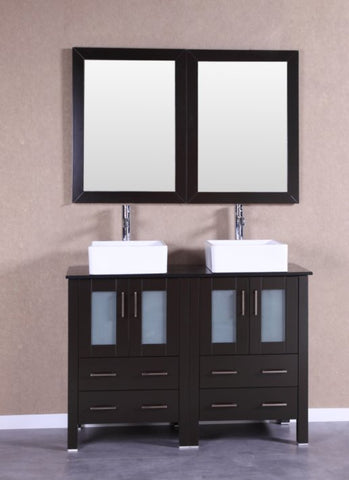 "Image of 48"" Bosconi AB224CBEBG Double Vanity"