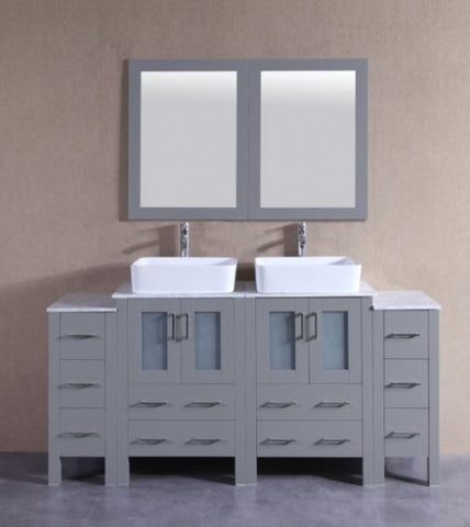 "Image of 72"" Bosconi AGR224RCCM2S Double Vanity"