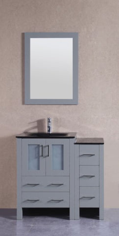 "Image of 36"" Bosconi AGR124BGU1S Single Vanity"