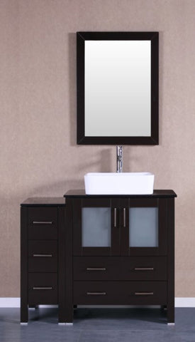 "Image of 30"" Bosconi AB130RCBG Single Vanity"