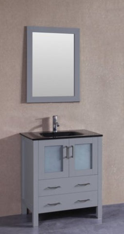 "Image of 30"" Bosconi AGR130BGU Single Vanity"