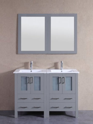 "Image of 48"" Bosconi AGR224U Double Vanity"
