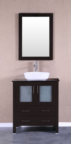 "Image of 30"" Bosconi AB130BWLBG Single Vanity"