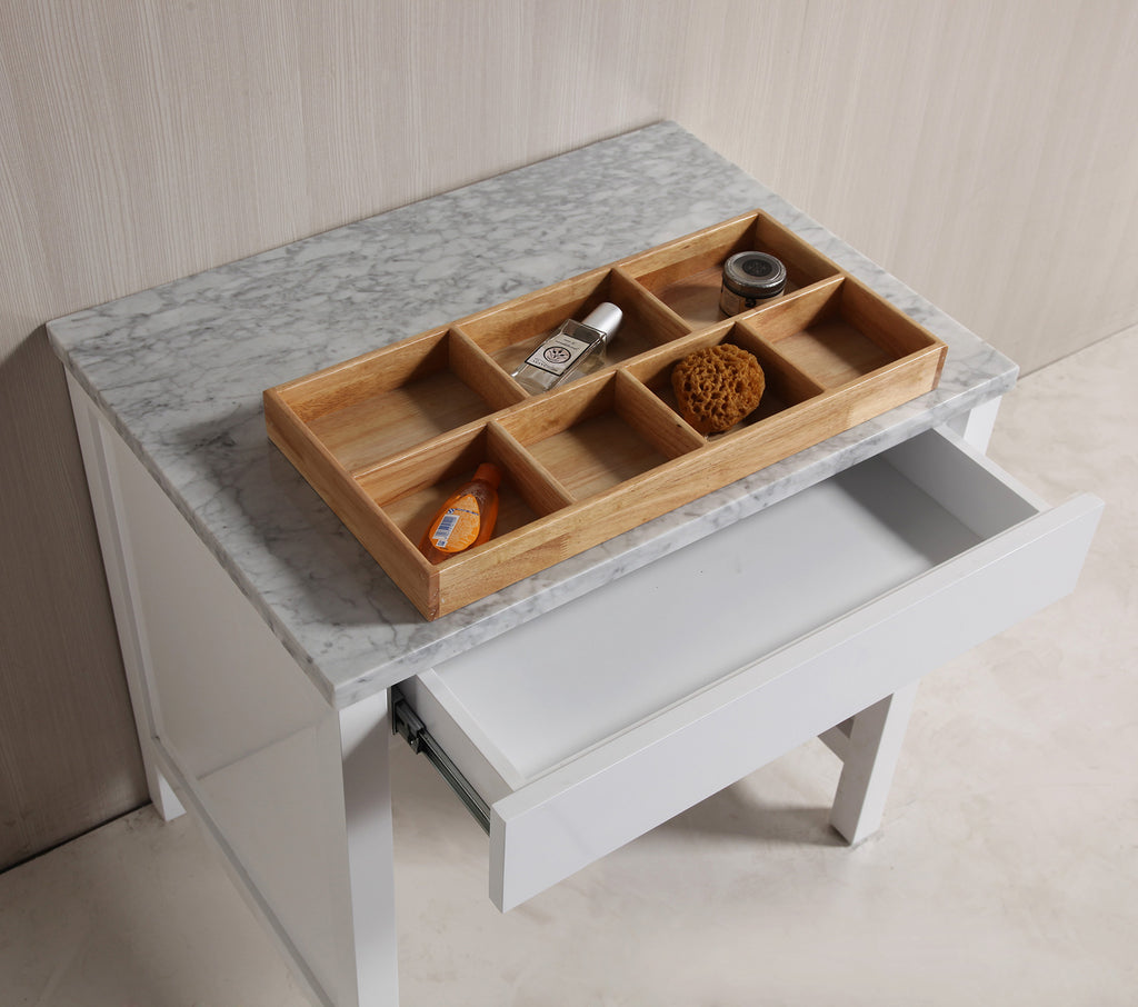 Make-up table in White Finish