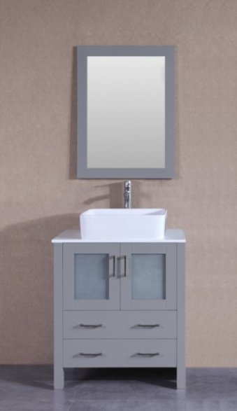 "30"" Bosconi AGR130RC Single Vanity"