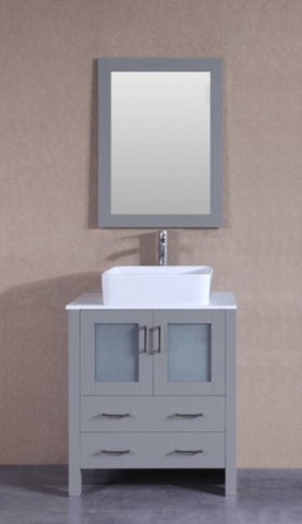 "Image of 30"" Bosconi AGR130RC Single Vanity"