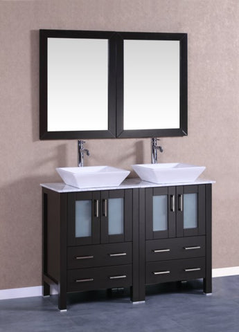 "Image of 48"" Bosconi AB224SQCM Double Vanity"
