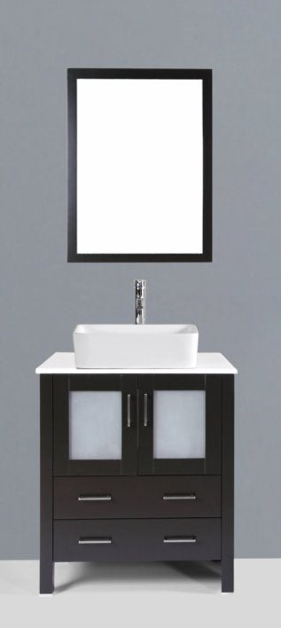 "30"" Bosconi AB130RC Single Vanity"