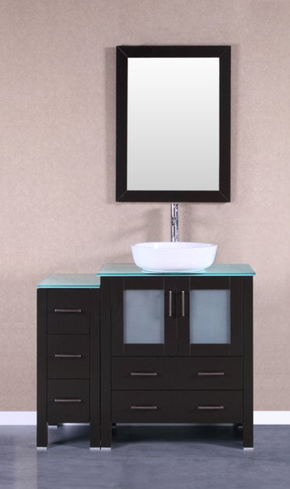 "42"" Bosconi AB130BWLCWG1S Single Vanity"