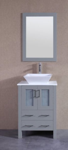 "Image of 24"" Bosconi AGR124S Single Vanity"
