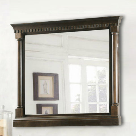 Legion Furniture WLF6036-M-36 in. Mirror - Antique Coffee