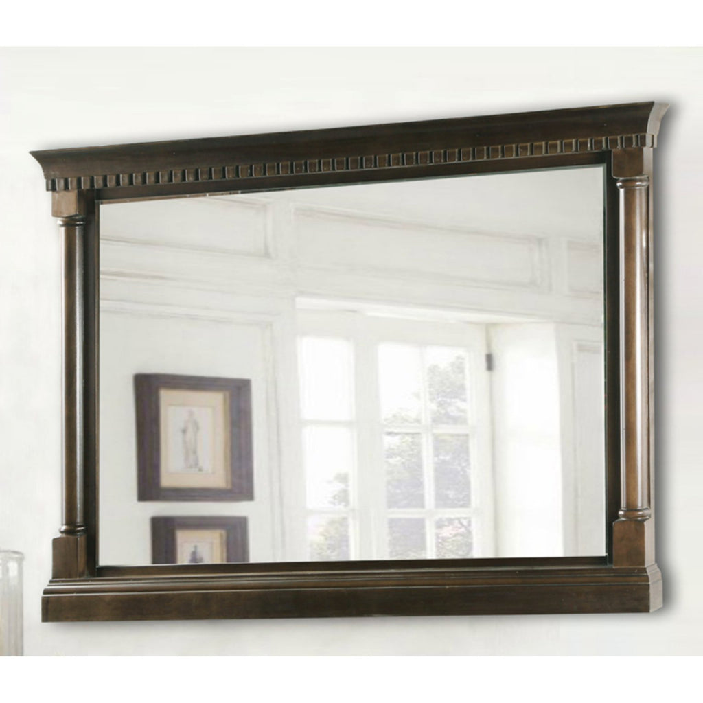 Legion Furniture WLF6036-M-48 in. Mirror - Antique Coffee