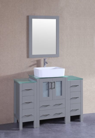 "Image of 36"" Bosconi AGR124RCCWG1S Single Vanity"