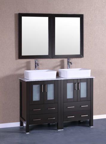 "Image of 48"" Bosconi AB224RCCM Double Vanity"