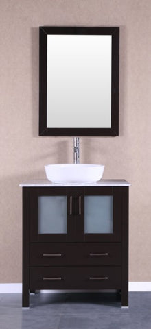 "Image of 30"" Bosconi AB130BWLCM Single Vanity"