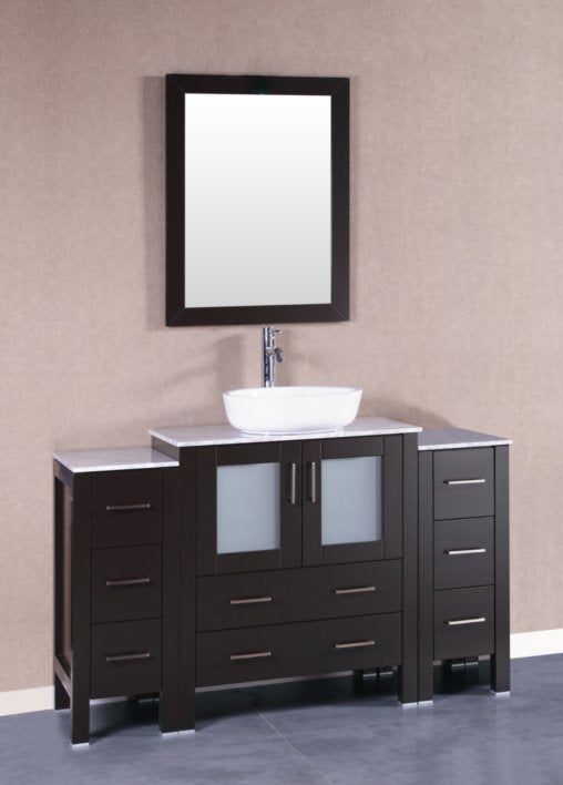 "54"" Bosconi AB130BWLCM2S Single Vanity"