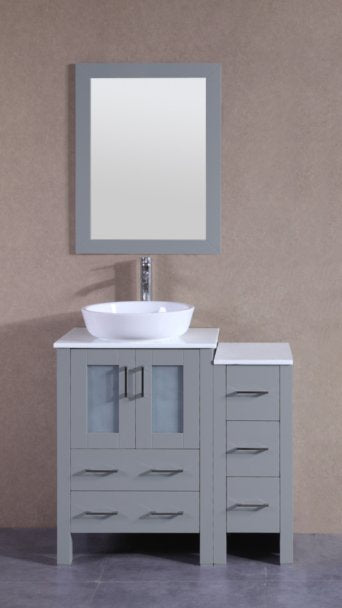 "36"" Bosconi AGR124BWLPS1S Single Vanity"