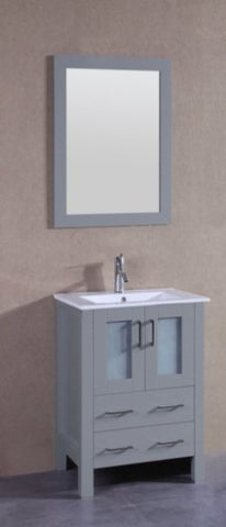 "Image of 24"" Bosconi AGR124U Single Vanity"