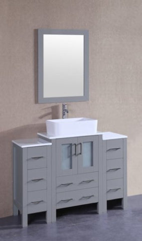 "Image of 48"" Bosconi AGR124RC2S Single Vanity"
