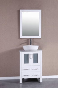 "24"" Bosconi AW124BWLCM Single Vanity"