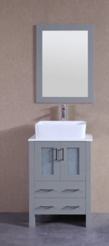 "24"" Bosconi AGR124RC Single Vanity"