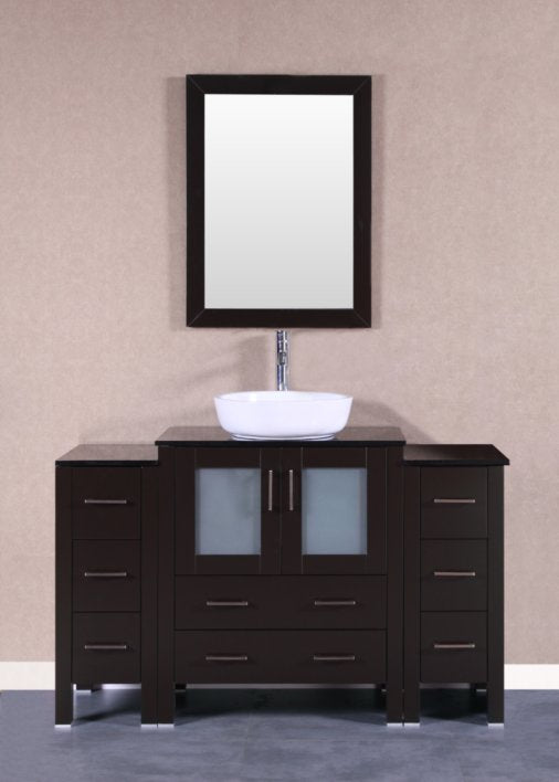 "54"" Bosconi AB130BWLBG2S Single Vanity"