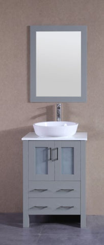 "24"" Bosconi AGR124BWLPS Single Vanity"