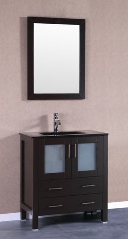 "Image of 30"" Bosconi AB130BGU Single Vanity"
