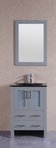 "Image of 24"" Bosconi AGR124BGU Single Vanity"