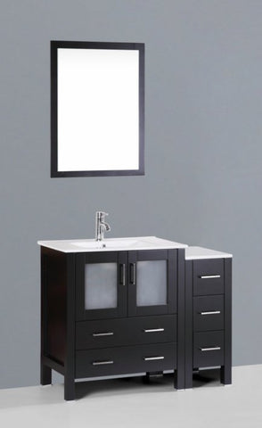 "Image of 42"" Bosconi AB130U1S Single Vanity"